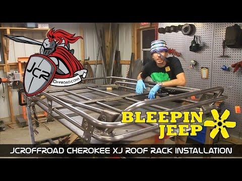 JcrOffroad - Cherokee XJ Modular Roof Rack Installation - By BleepinJeep