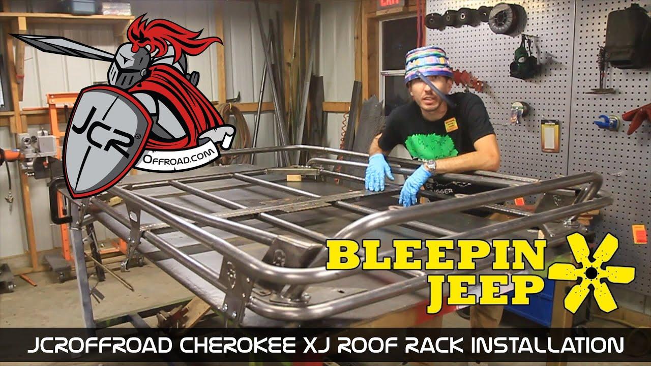 Jcroffroad Cherokee Xj Modular Roof Rack Installation