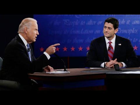 Joe Biden and Paul Ryan Vice Presidential Debate 2012