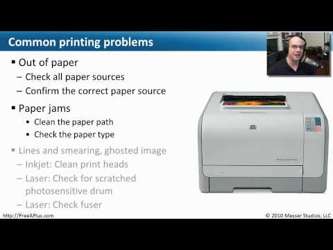 Troubleshooting Printer Problems Comptia A 220 702 1 5