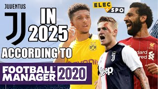 Juventus In 2025 According To Football Manager 2020