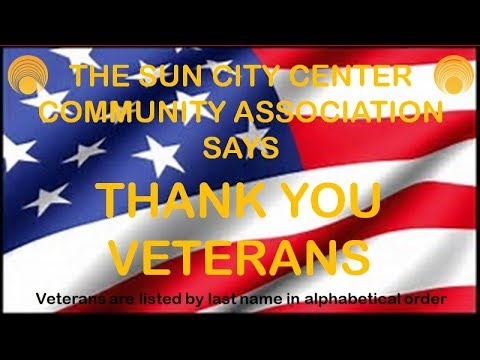 2017-06-10  Military Vets photos of Sun City Center Community Association members