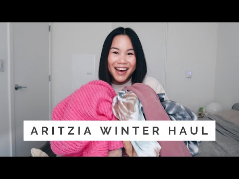 ARITZIA WINTER HAUL || Coats, Sweaters, And Everything Cozy!