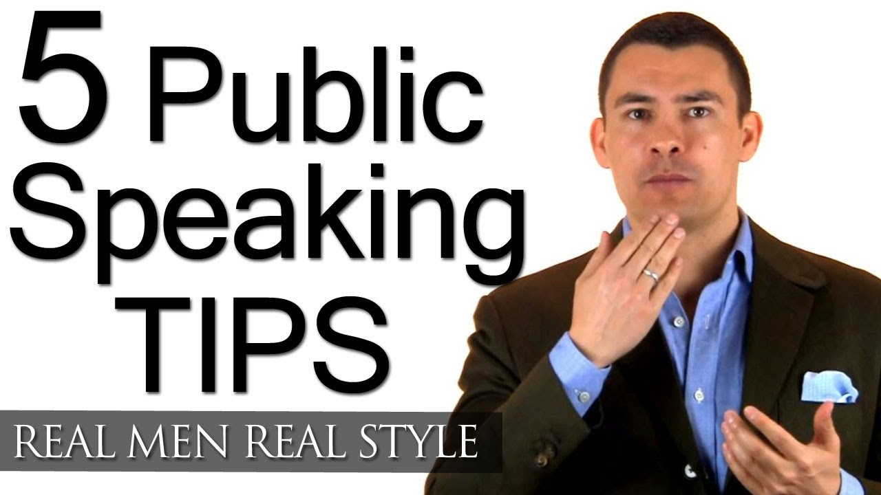 How to Do a Public Speech