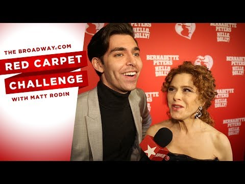 RED CARPET CHALLENGE: HELLO, DOLLY! with Bernadette Peters, Kate Baldwin, Melanie Moore and more!