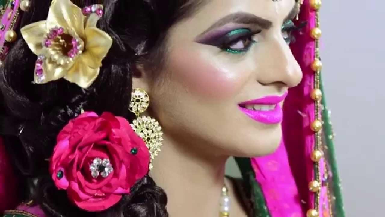 Mehndi Makeup Zara : Creative mehndhi bridal makeup by henna nazir youtube