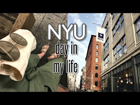 day in the life of a NYU student
