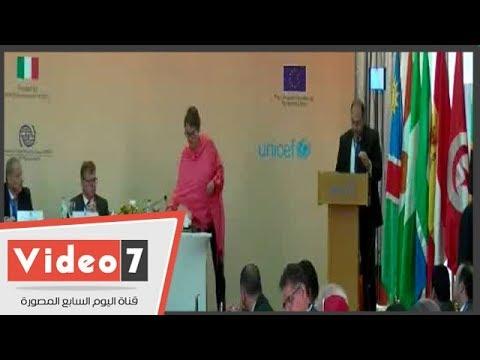 الأمم المتحدة تكرم النائب العام فى مؤتمر النواب العموم وتمنحه درع تذكارى  - 17:54-2018 / 9 / 23