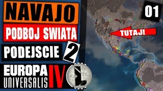 Europa Universalis 4 jako Navaho HARD / Live odbywa się na kanale LookasLIVE link w opisie - Na żywo