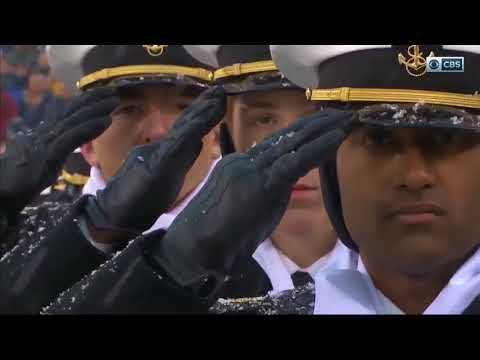 One Of The Best National Anthems - Army Navy Game 2017