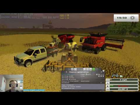 FS13 Throwback on MAFM V2 Ep 8-Finishin Harvest, Sellin Soybeans, And Purchasing A Baler