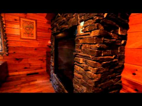 """Happily Ever After"" Romantic Pigeon Forge Resort Cabin - Cabins USA 2015"