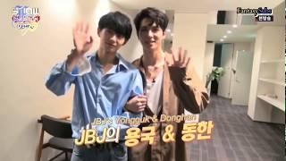 [ENG SUB] 171107 Show Champion Karaoke JBJ Kim Donghan and Kim Yongguk
