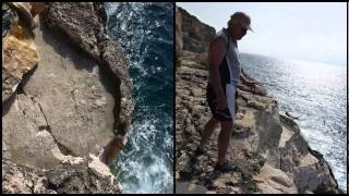 Mallorca easy deep-water soloing  Porto Pedro.m4v
