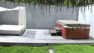 Deluxe Beach Villa mit Jacuzzi