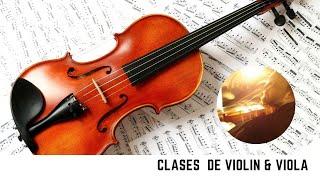 Diferencia entre ejecutar con y sin vibrato, clases de violin.