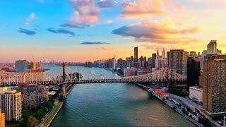 Drone Over New York City - DJI Phantom 4