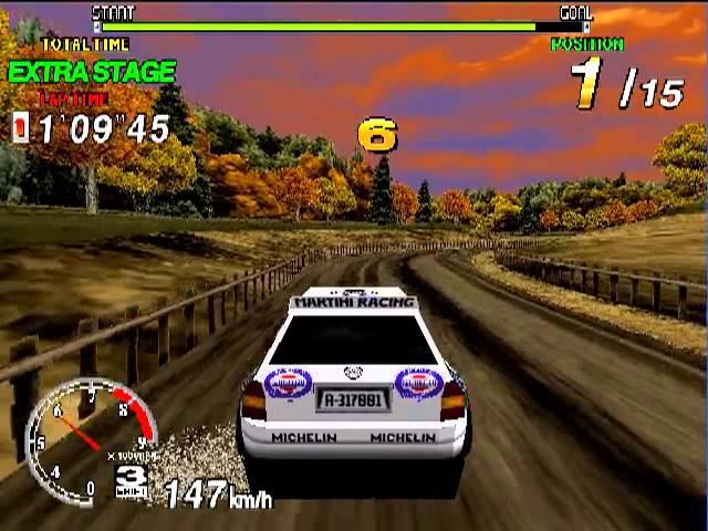 Arcade Longplay [249] SEGA Rally Championship 1995