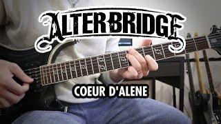 Alter Bridge - Coeur d'Alene (Guitar Cover, with Solo)