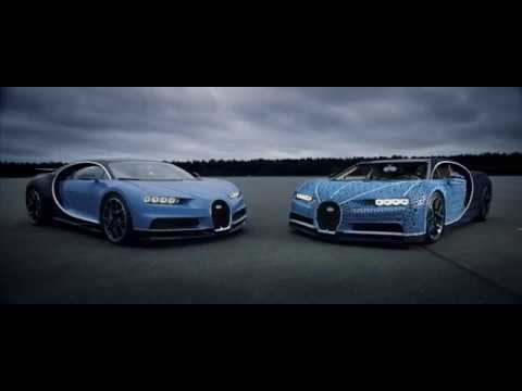 First Ever Life Size And Drivable Lego Technic Bugatti Chiron Youtube