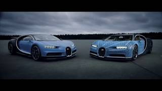 First Ever Life-Size and Drivable LEGO Technic Bugatti Chiron