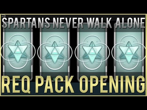 Spartans Never Walk Alone REQ Pack Opening (Halo 5)