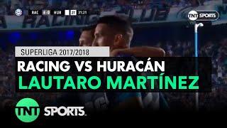 Lautaro Martínez (4-0) Racing vs Huracán | Fecha 14 - Superliga Argentina 2017/2018