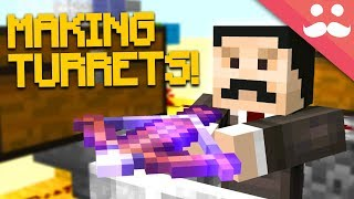 Experimenting With CROSSBOWS in Minecraft 1.14!