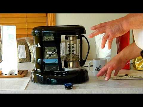 Nesco Coffee Roaster Demo with Home Roast Coffee