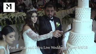 Part 2. Alan and Selva Live Wedding 8/6/18 Sydney