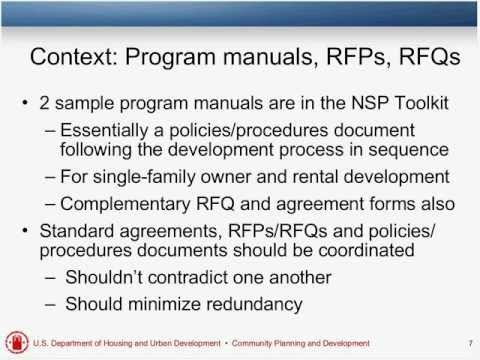 Writing and Changing Developer Agreements Webinar - 11/15/11