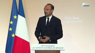 Refondation du système de retraite : Edouard Philippe au CESE