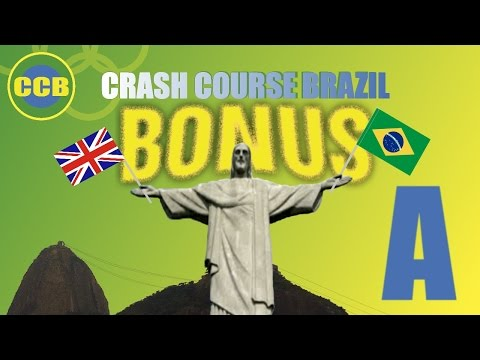 BONUS: English words you can use in Brazil; letter A