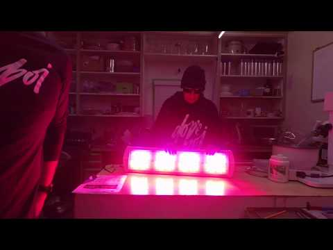 THE CGE-LED GROW LIGHT/UNBOXED