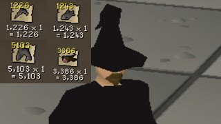 1 Hour of Buying BURNT FOOD (you'll be surprised) - OSRS Challenge