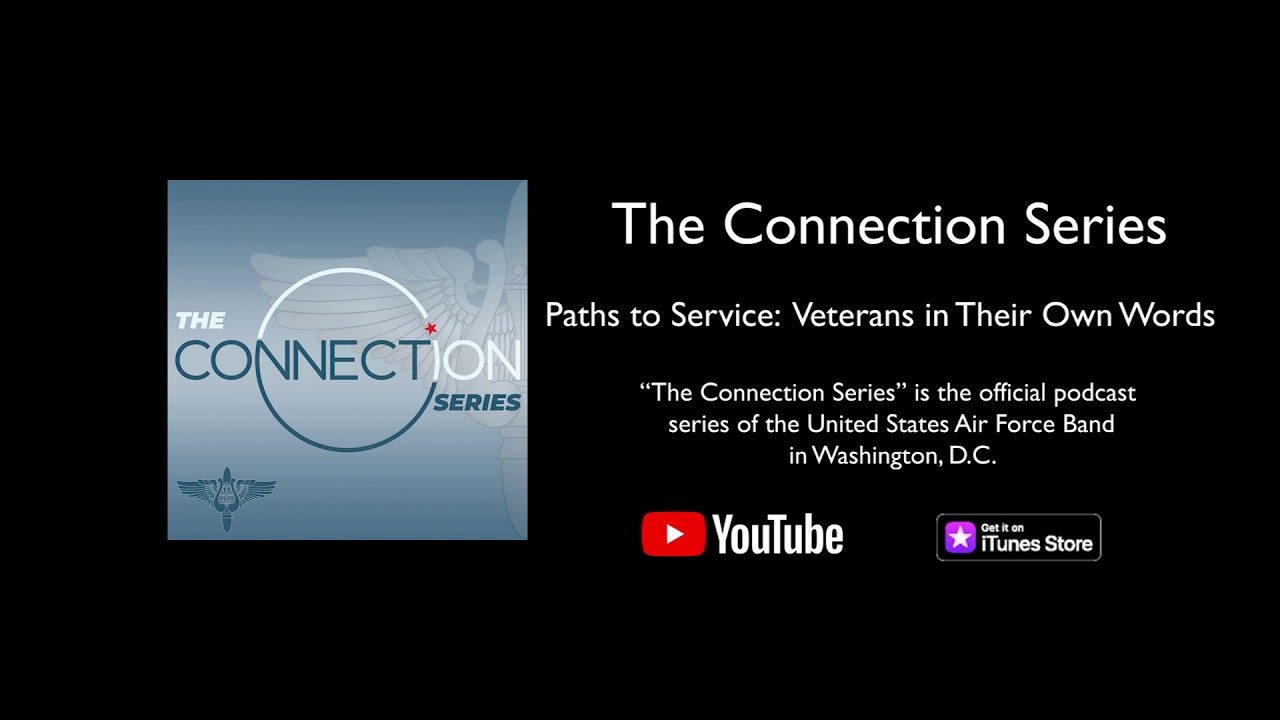 Commemorating Veterans Day 2019, this podcast episode highlights the stories of veterans: how they entered the service, how they served, and other reflections on their time in the military. This episode includes the current Chief of Staff of the Air Force, Gen. David L. Goldfein, as he shares about his own path to service.  Credits: Executive Producer: Col. Don Schofield Co-Producer/Host: Master Sgt. Brooke Emery Co-Producer: Senior Master Sgt. Matthew Irish Recording Production Managers: Senior Master Sgt. Dennis Hoffmann Audio Mastering: Master Sgt. Mike Hampf Video Editing: Technical Sgt. Eddie Sanders  For more information about The U.S. Air Force Band, visit https://www.usafband.af.mil.