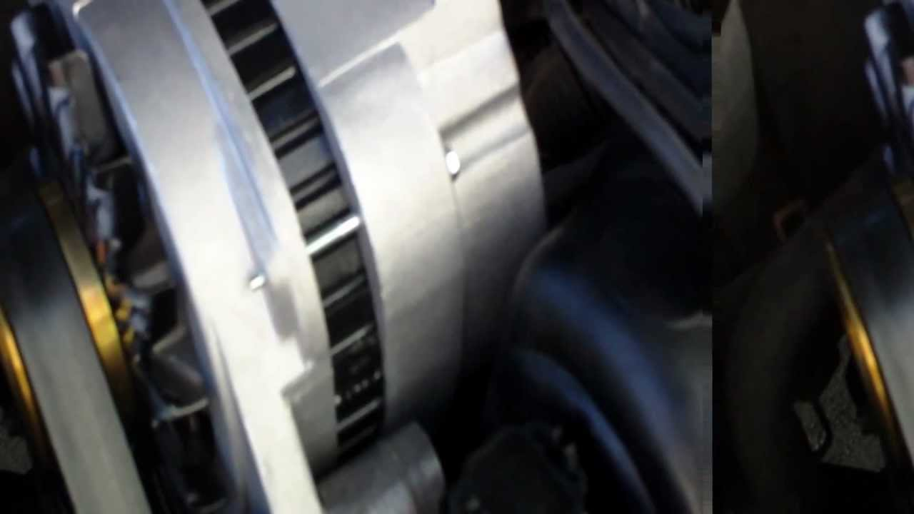 Alternator Whine / Belt Squeal Engine Noise Actually Caused By Leaky PCV  Gasket: GM L36 3800 Engine