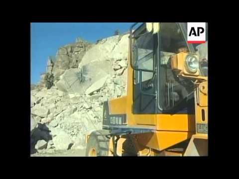 CHINA: TIANANMEN SQUARE UNDERGOES MAJOR RENOVATION