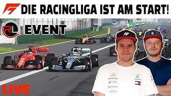 LIVE AUS AUSTRALIEN MIT DER RACINGLIGA | Q&A Patrick & Bernie | F1 2019
