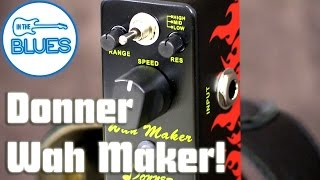 Donner Wah Maker Auto Wah Pedal