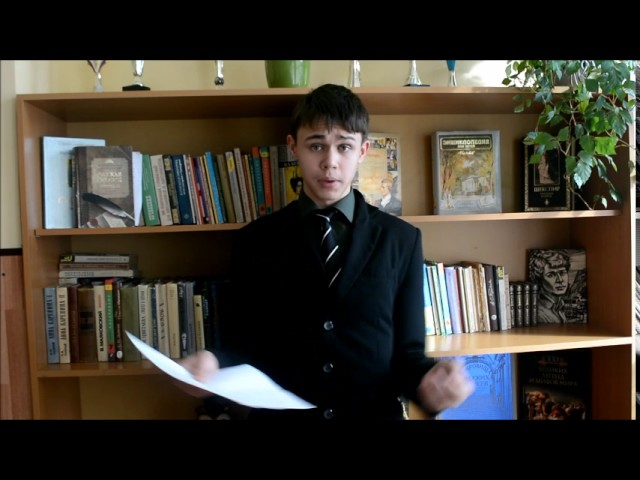 Изображение предпросмотра прочтения – АристархБорщёв читает произведение «Сергею Есенину» В.В.Маяковского