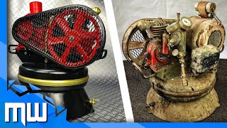 Vintage Air Compressor Restoration 1950 German 🔷 Extremly Rusty and Dirty 🔧