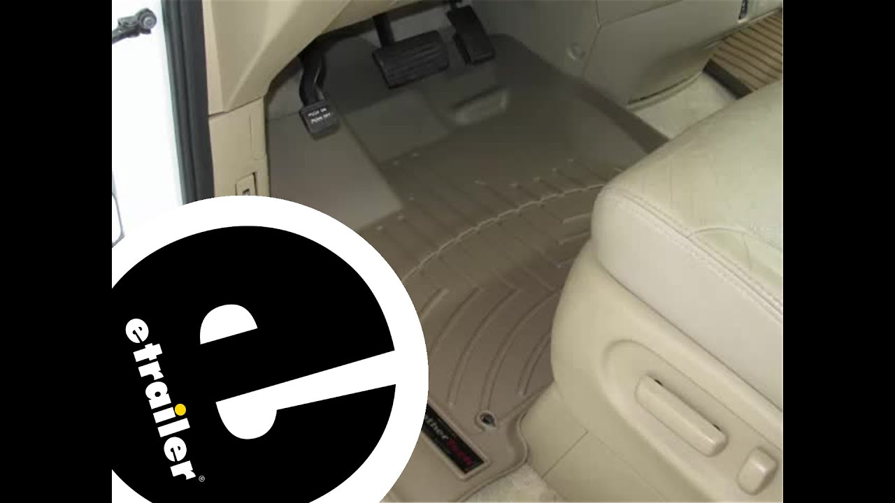 Review Of The WeatherTech Front Floor Liners On A 2008 Honda Odyssey    Etrailer.com