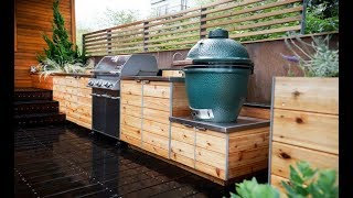 Outdoor Kitchen and Grill Ideas for Summer  - Small and Big outdoor kitchen