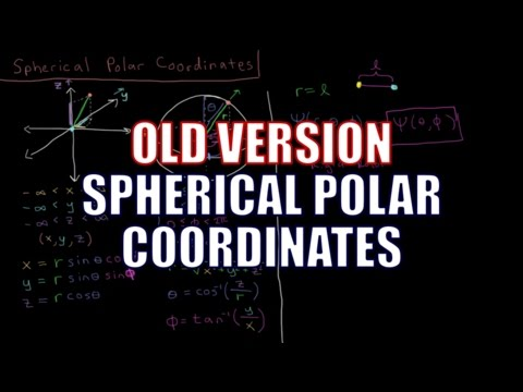 Quantum Chemistry - Spherical Polar Coordinates (Old Version)