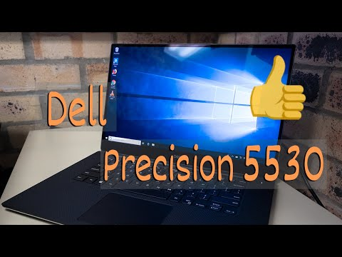 Dell Precision 5530 Unboxing and review