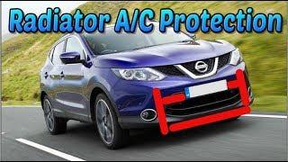 Nissan Qashqai Air Conditioning Radiator Protection
