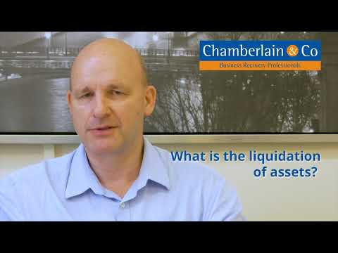 What is the liquidation of assets?