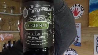 Lords Brewing Co | Chosen Man | New World Bitter