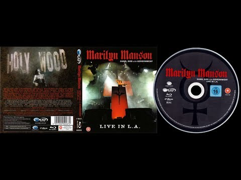MARILYN MANSON - GUNS, GOD AND GOVERNMENT TOUR | LIVE IN L.A. (2009) | 1080p Blu Ray